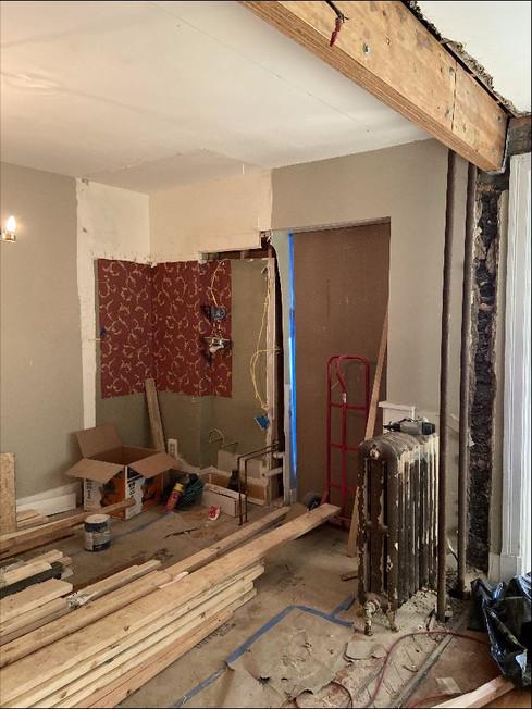 Construction Process Photo - Kitchen