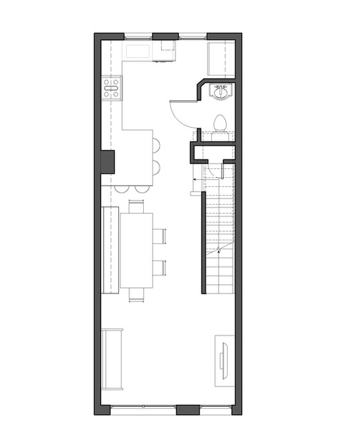 Navy Yard Design - Existing Floor Plan