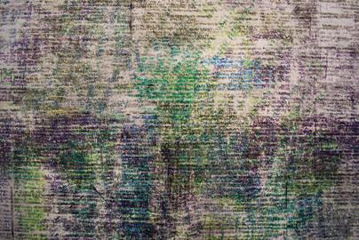 Textual Portrait IV (detail I)