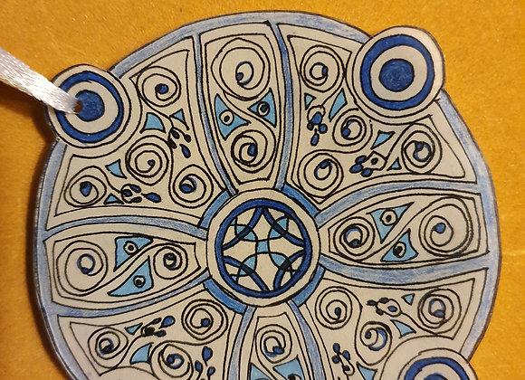 Amulette de protection Triskel
