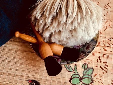 Le massage Japonais au pinceau