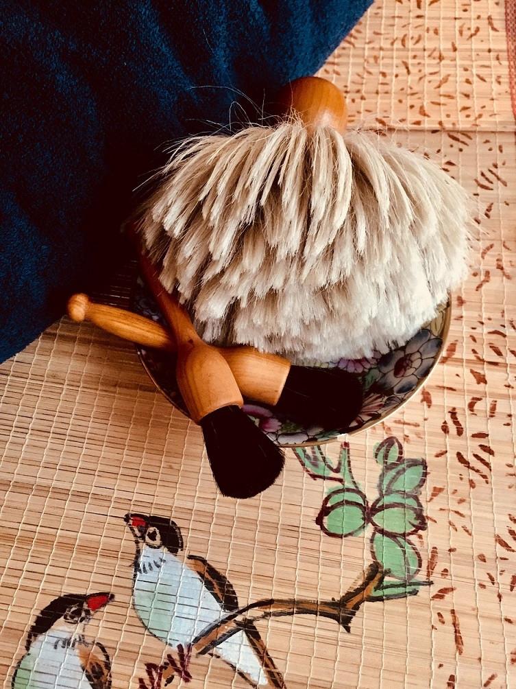Massage Japonais au Pinceau France unique soin pour femme