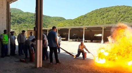 Pedrita treina colaboradores voluntários para atuação em  Brigada de Emergência