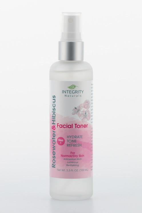 Rosewater Hibiscus Facial Toner