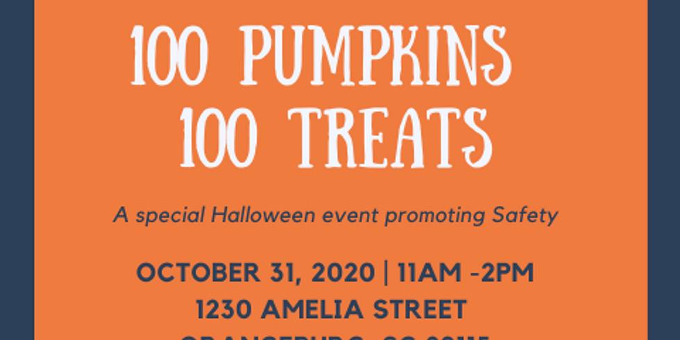 Halloween 100 Pumpkins 100 Treats