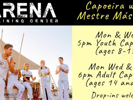 Capoeira with Mestre Máscara