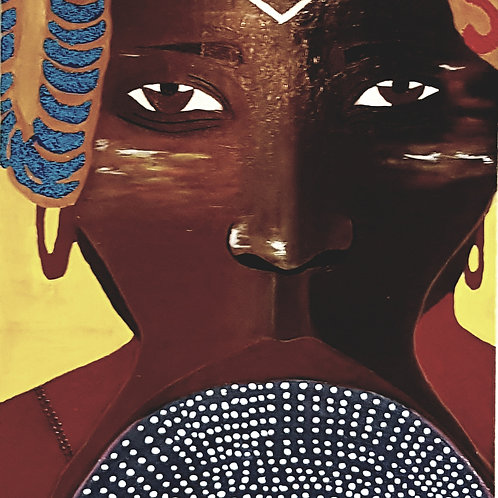 THE MURSI WOMAN