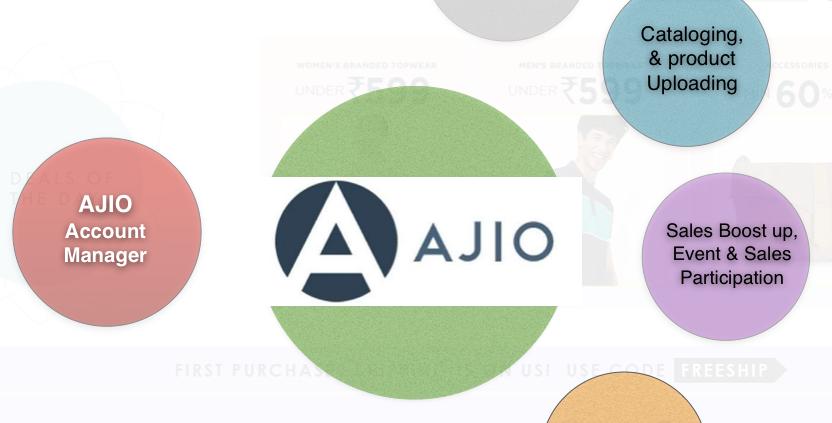 Ajio Account Manager