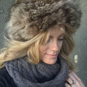 Raccoon Fur Hat