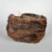 Mink fur headband/neckwarmer