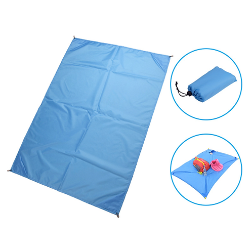 Portable Waterproof Oxford Cloth Mat for Beach Camping