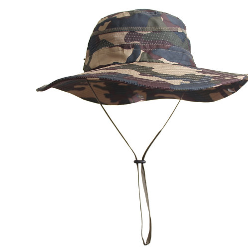 Men's wide brim hat