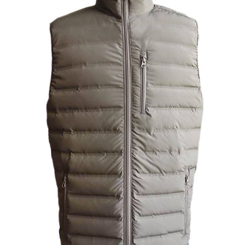 Men's no-sew down vest