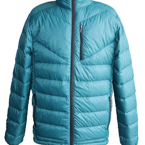 Men's lightweight packable short down jacket