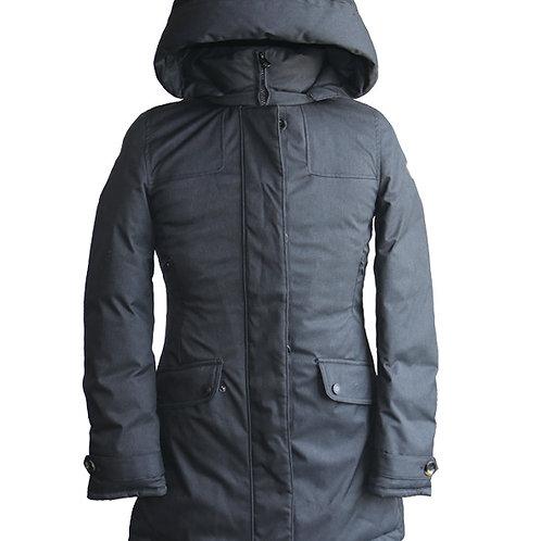 Women's winter down parka jacket