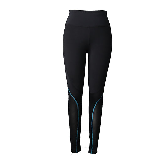 High-waist full-length women's legging