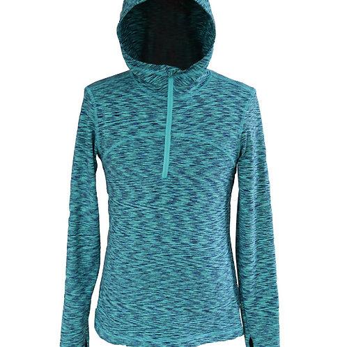 Women's power stretch pro hooded sweatshirt