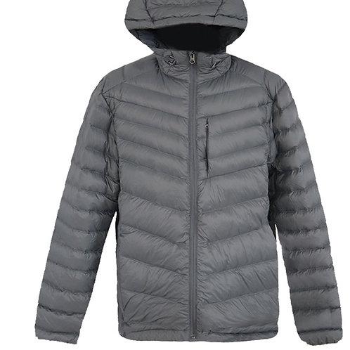 Men's lightweight hoody down jacket