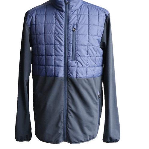 Men's hybrid insulated jacket