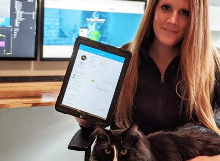 Meet the Delaware-based founder of vet messaging app Fur Baby Tracker