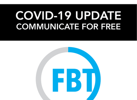 COVID-19: COMMUNICATE FOR FREE