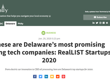 Fur Baby Makes the 2020 Startups RealLISTA
