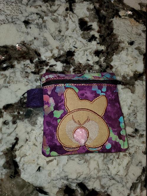 Corgi poo bag holder and dispenser