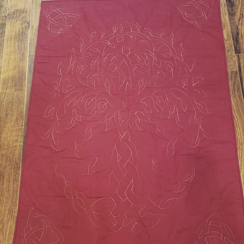 Whole Cloth Quilt - Tree of Life