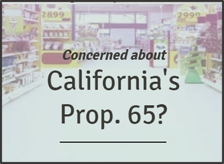 California's Prop. 65: What IBA Members Need to Know