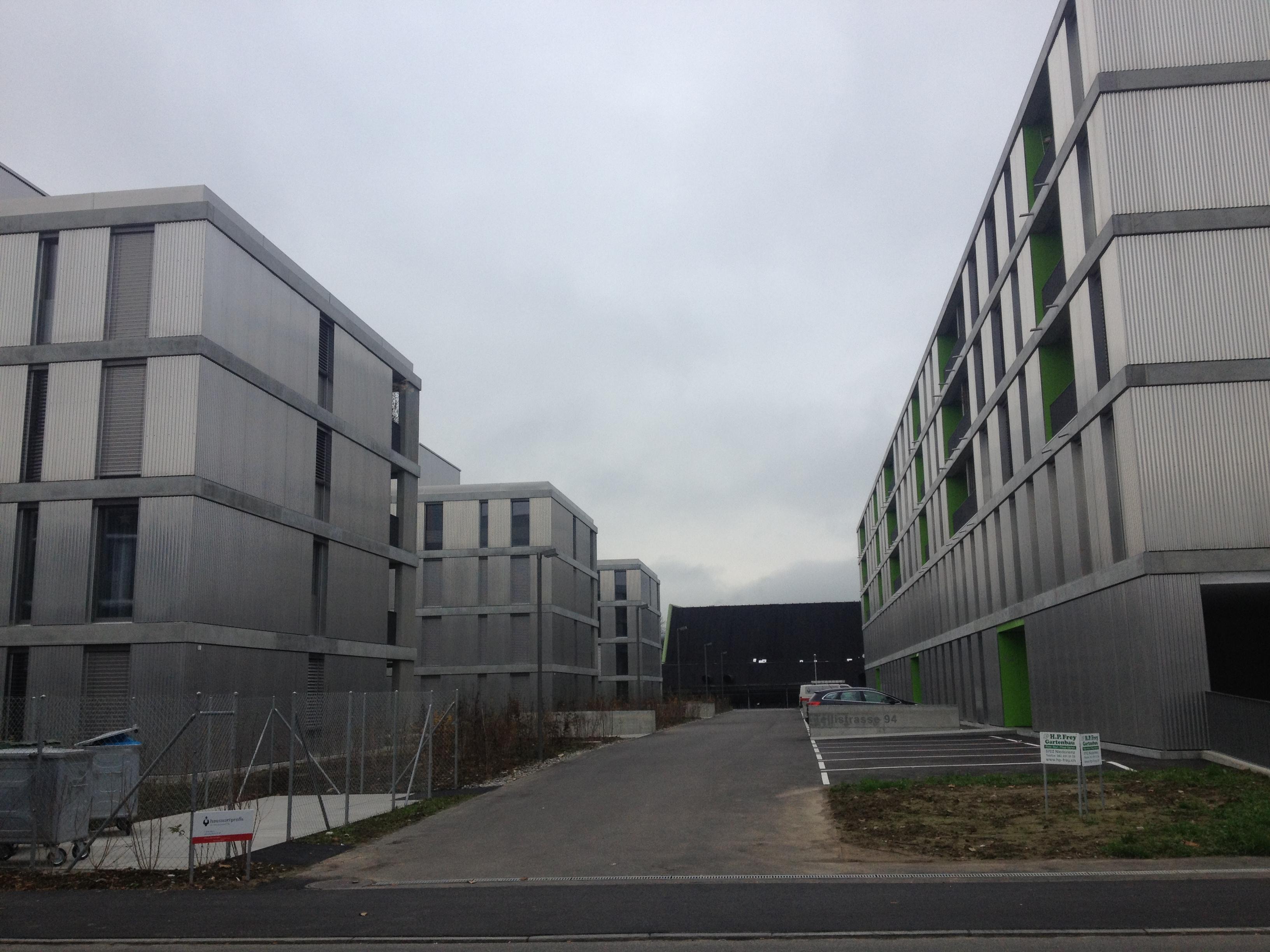 Überbauung in Aarau