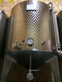 Cuve de fermentation bière