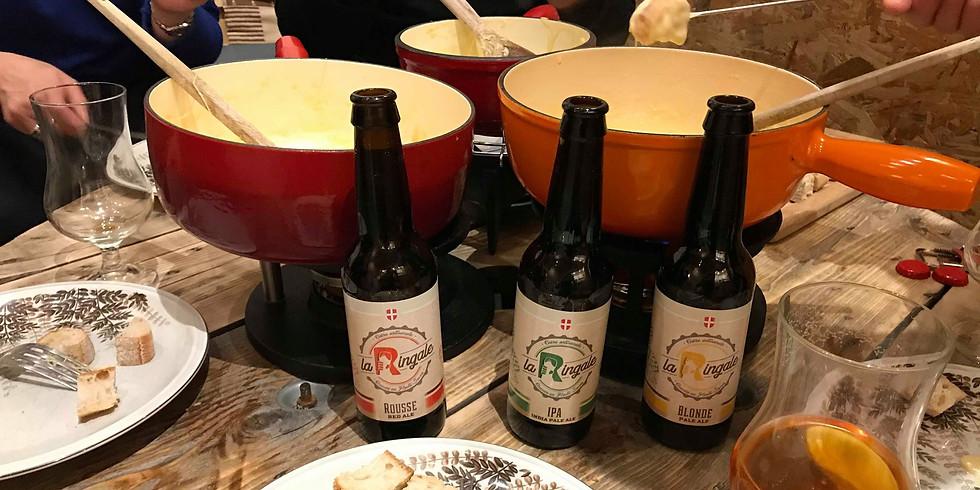 Week-end Fondue à La Bière !