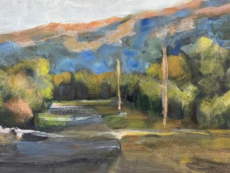 Laneway workshop - tonal painting