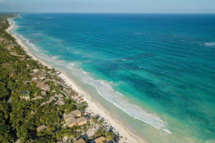 Playa Tulum, México
