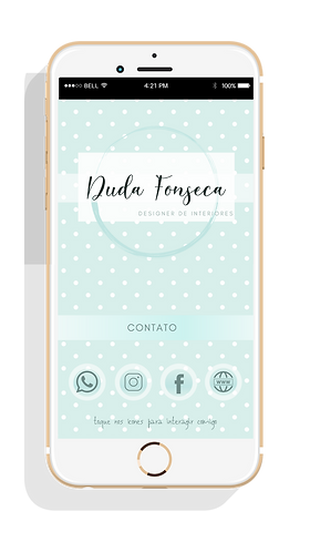 Cartão de Visita Digital