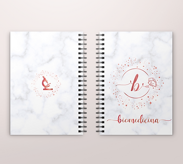 Caderno/Planner Biomedicina Arquivo Digital