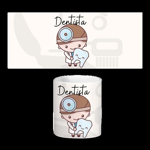 Estampa Caneca Dentista