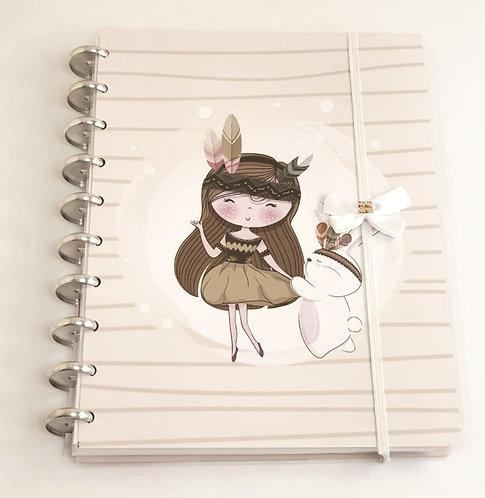 Caderno de disco happy planner