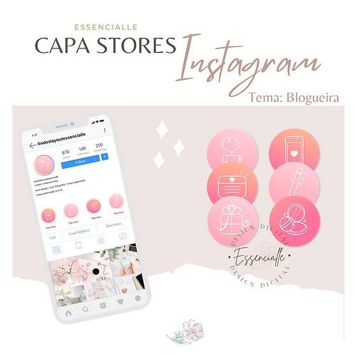Capa Stores Tema Blogueira
