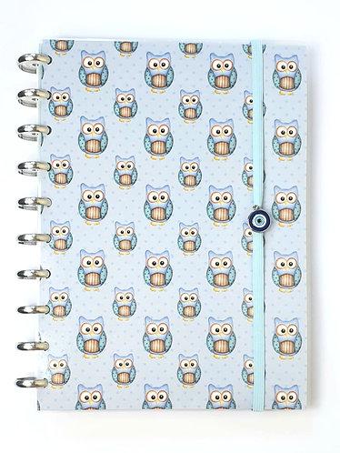 Caderno coleção coruja Happy Planner
