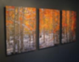 Illumination Metal Print Triptych