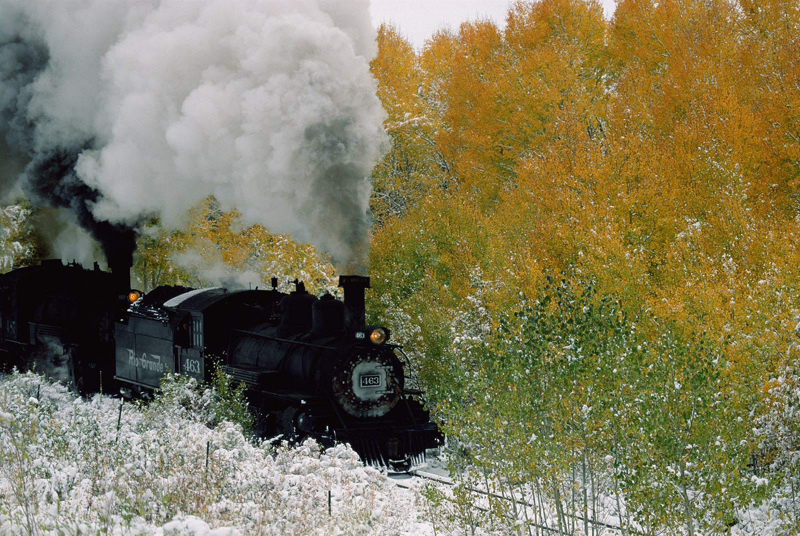 Autumn Along the Cumbres and Toltec