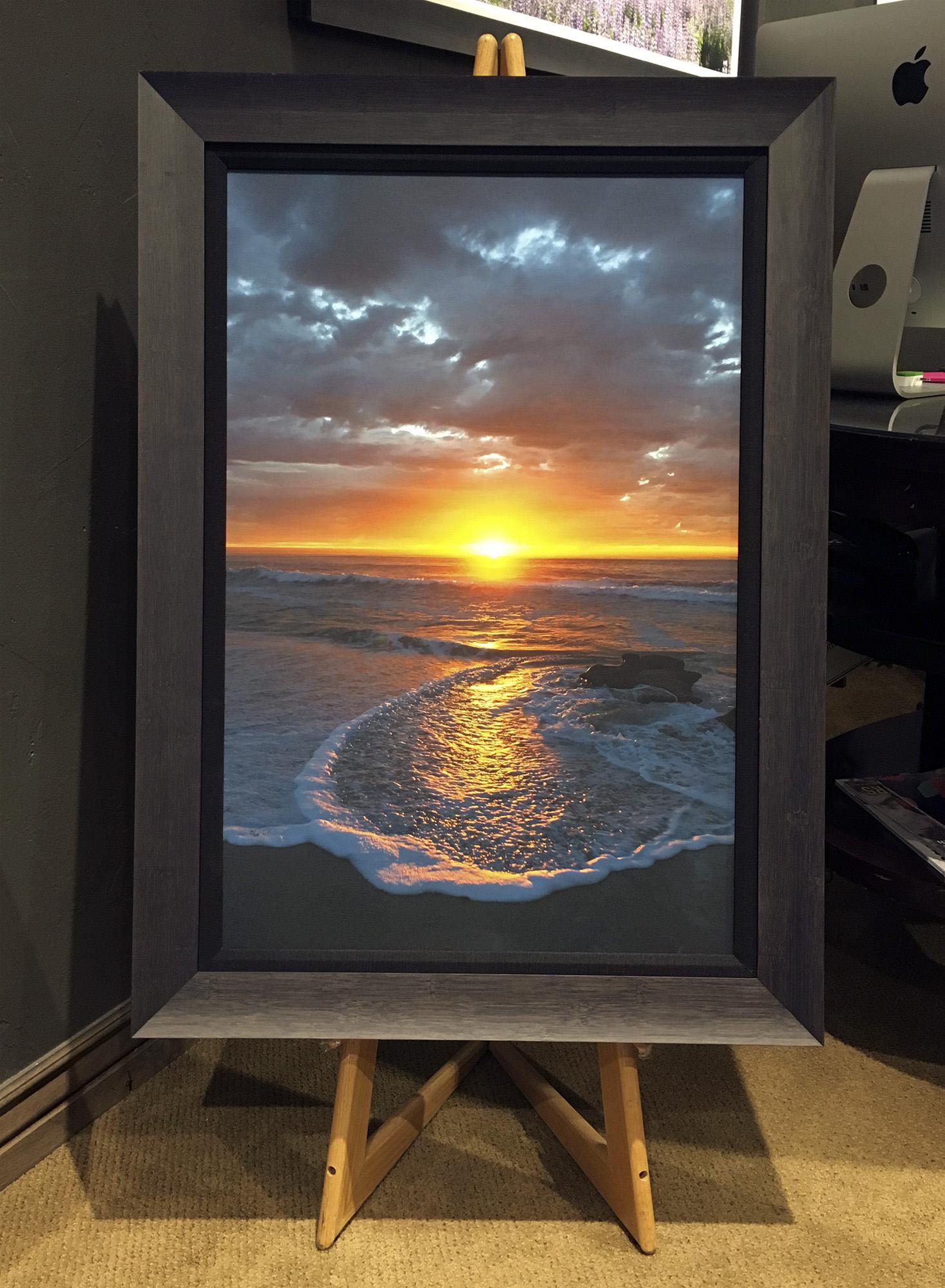 2.4in Frame Black Liner