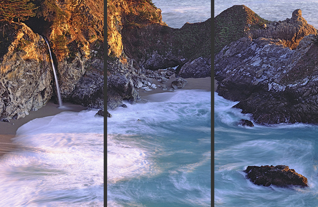 Turquoise Waters Triptych