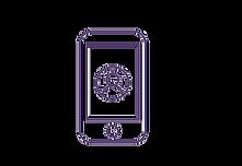 Ícone de um celular,