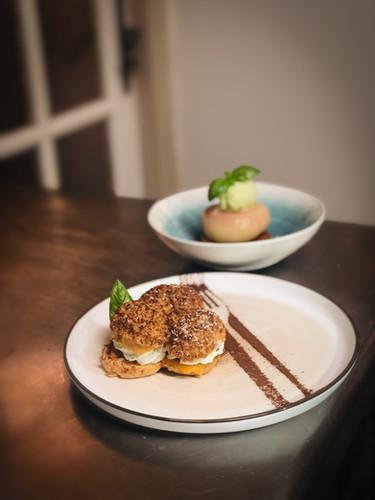 Chou Abricot et Peche sorbet Mojito.jpg
