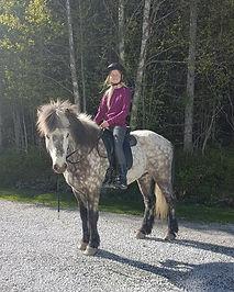 Sigrid Indahl og Kraftur fra Lian