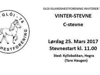 Invitasjon til Vinterstevne 2017