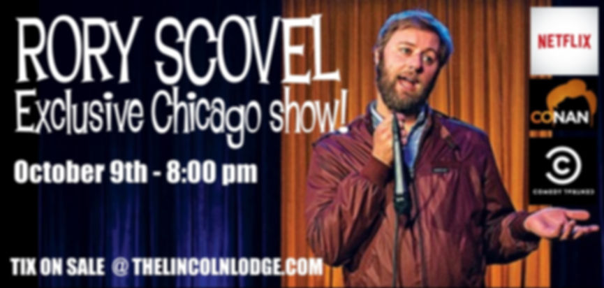 The Lincoln Lodge presents Rory Scovel