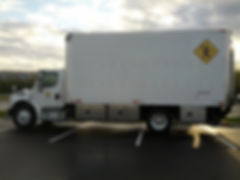 3-Ton Grip Truck on location in Tampa Bay, FL